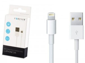 iOS 9 FOREVER KABEL iPhone 5C 5S 6 6S iPad AIR 2